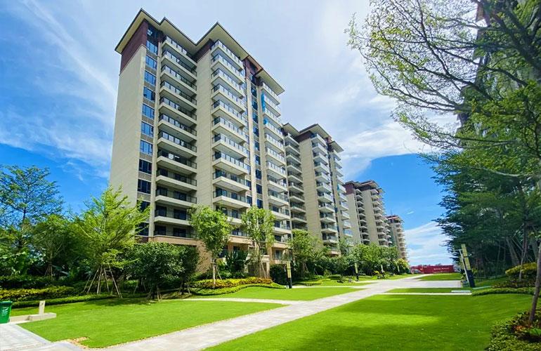 三亚碧桂园海棠盛世享海棠湾度假生活,洋房、叠墅均有房源在售,均价28000元/㎡