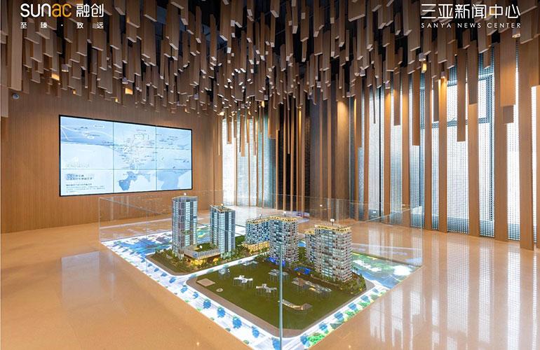三亚新闻中心建筑面积154-222㎡三至四房在售,均价33000元/㎡