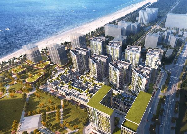 万科海上大都会左岸住宅、商办产品在售