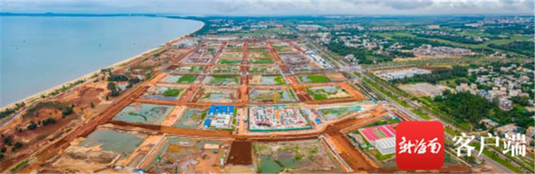 江东新区海南国际能源交易中心项目建设加速