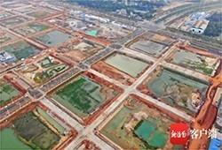 海口江东新区起步区28条道路预计明年3月全部完工