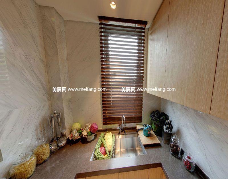 亚特兰蒂斯 C户型3室2厅3卫180㎡样板间:厨房