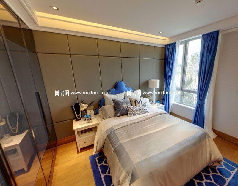 亚特兰蒂斯 C户型3室2厅3卫180㎡样板间:卧室