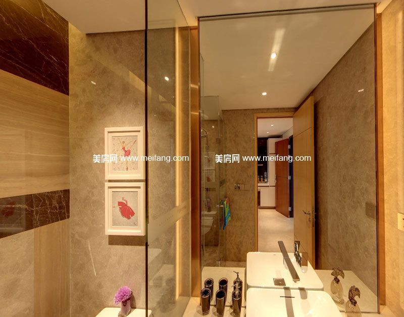 亚特兰蒂斯 A户型2室2厅1卫81㎡样板间:卫生间