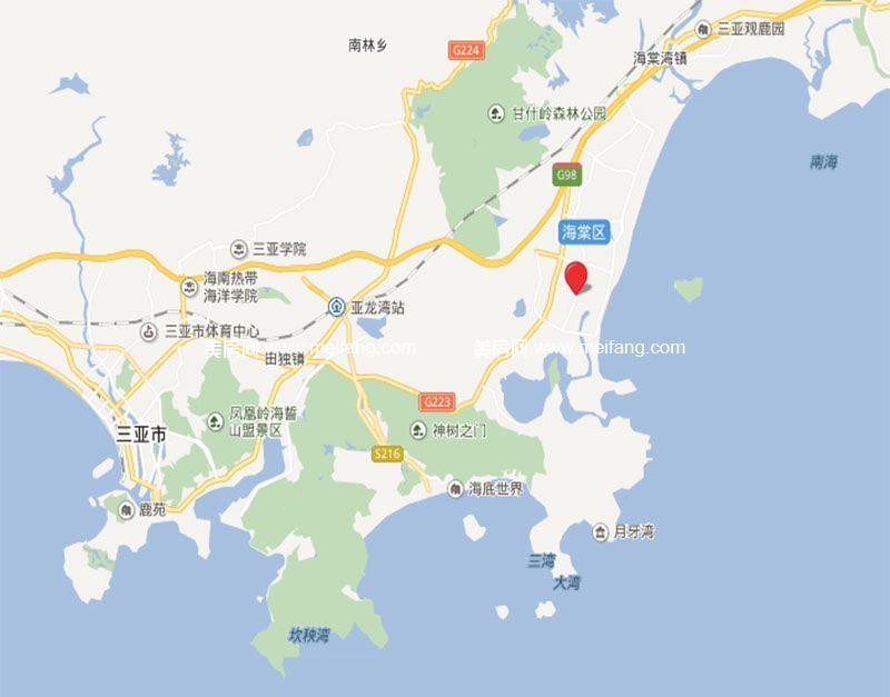 国寿嘉园逸境 市区位图