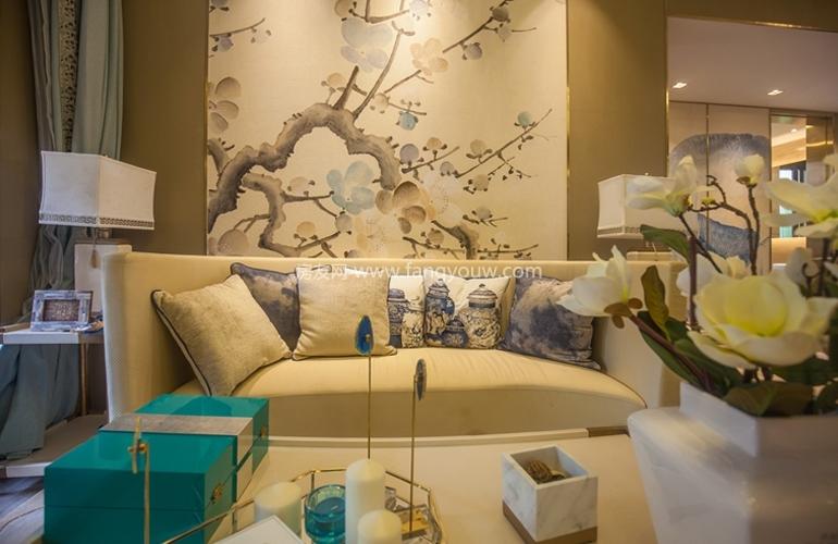 绿地悦澜湾 样板间:客厅