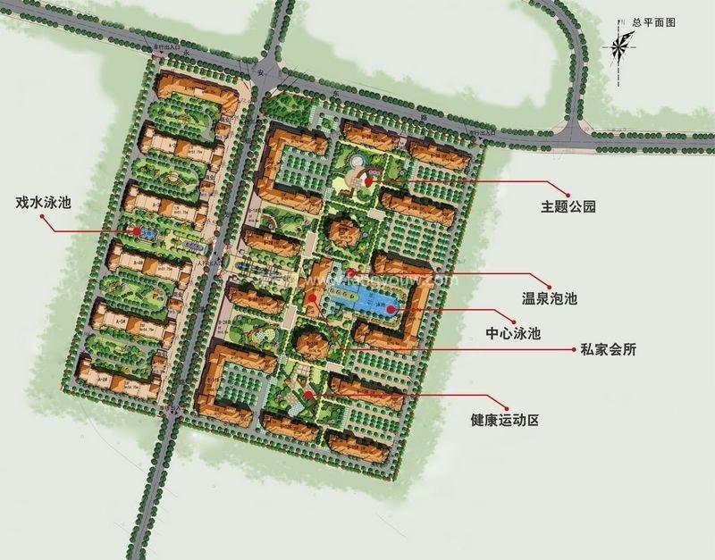 碧桂园海逸半岛 规划图